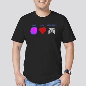Peace love video games T-Shirt