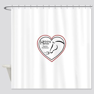 Helping Hands Equine Assistance Shower Curtain