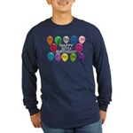 Happy 50th Birthday Long Sleeve Dark T-Shirt