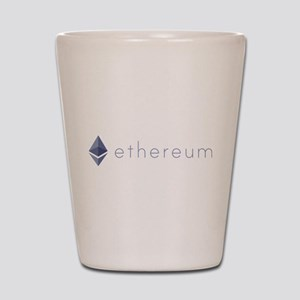 Ethereum Logo Symbol Design Icon Shot Glass
