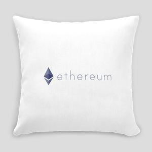 Ethereum Logo Symbol Design Icon Everyday Pillow