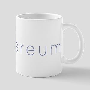Ethereum Logo Symbol Design Icon Mugs