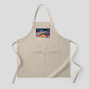 XmasStar/Chih (bl) BBQ Apron