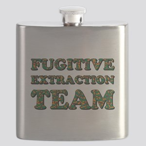 FUGITIVE EXTRACTION TEAM Flask