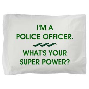 POLICE OFFICER Pillow Sham
