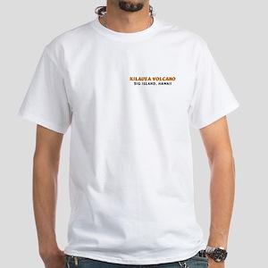 Lava Junkie White T-Shirt