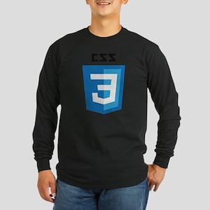 CSS3 Logo Long Sleeve T-Shirt
