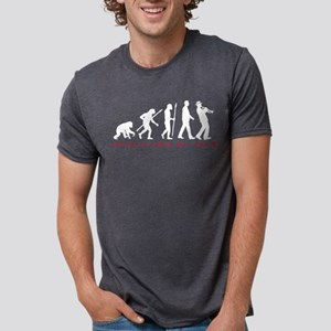Evolution of man ska trumpet player T-Shirt