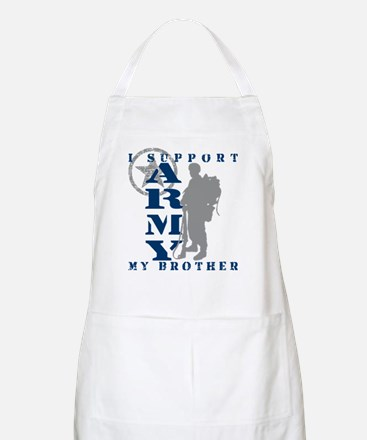 I Support My Bro 2 - ARMY BBQ Apron
