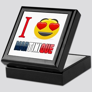 I love Martinique Keepsake Box