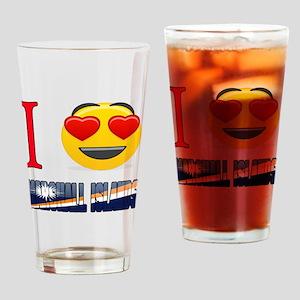 I love Marshall Islands Drinking Glass