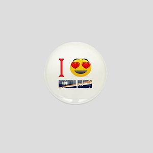 I love Marshall Islands Mini Button