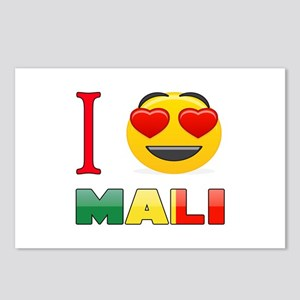 I love Mali Postcards (Package of 8)
