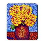 Mousepad<BR>YELLOW ROSES