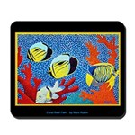 Mousepad<BR>CORAL REEF FISH