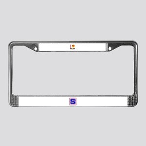 I love Malawi License Plate Frame