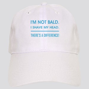 I'M NOT BALD. Cap