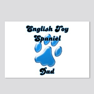 Toy Spaniel Dad3 Postcards (Package of 8)
