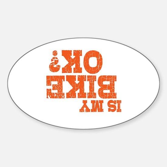 Online Sticker (Oval)