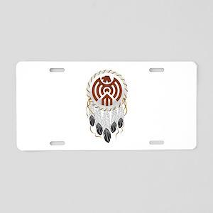 Dream Catcher Aluminum License Plate