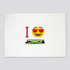 I love Jamaica 5'x7'Area Rug