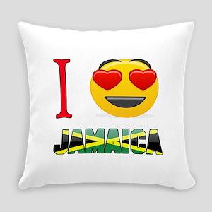 I love Jamaica Everyday Pillow
