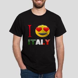 I love Italy Dark T-Shirt