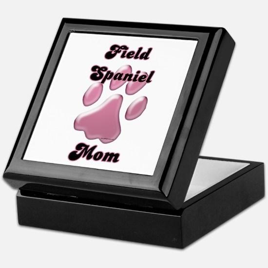 Field Spaniel Mom3 Keepsake Box