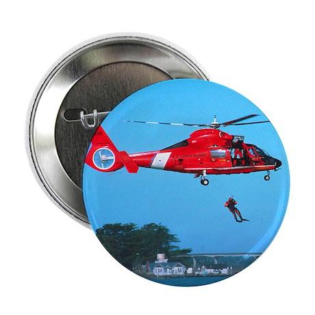 """Coast Guard Chopper 2.25"""" Button (10 pack)"""