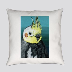 Cockatiel Bird Everyday Pillow