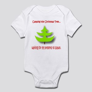 Camping the Christmas Tree Infant Bodysuit