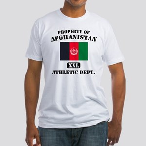 Property of Afghanistan Athle Fitted T-Shirt