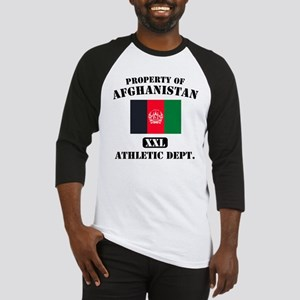 Property of Afghanistan Athle Baseball Jersey