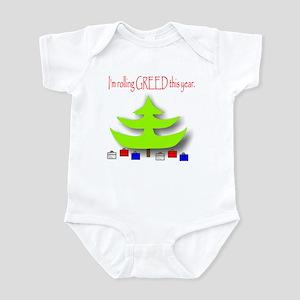 Rolling Greed Infant Bodysuit
