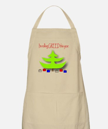 Rolling Greed BBQ Apron