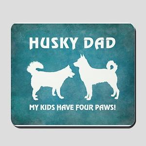 HUSKY DAD Mousepad