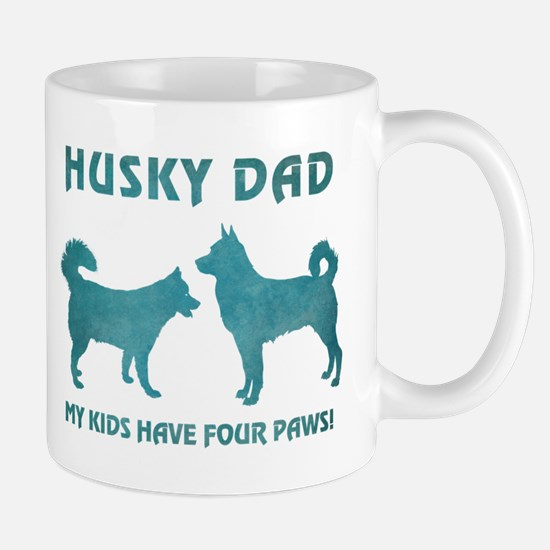 HUSKY DAD Mugs