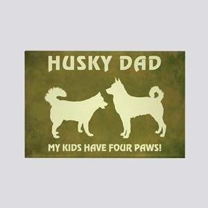 HUSKY DAD Magnets