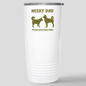 HUSKY DAD Travel Mug
