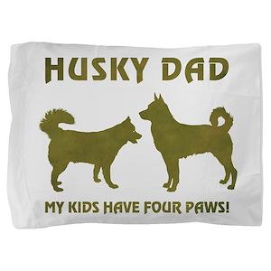 HUSKY DAD Pillow Sham