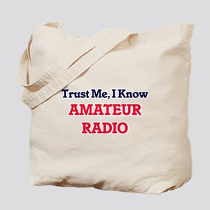 Trust Me, I know Amateur Radio Tote Bag