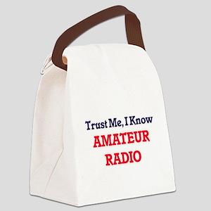 Trust Me, I know Amateur Radio Canvas Lunch Bag
