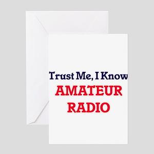 Trust Me, I know Amateur Radio Greeting Cards