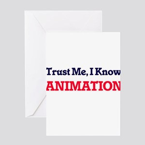 Trust Me, I know Animation Greeting Cards