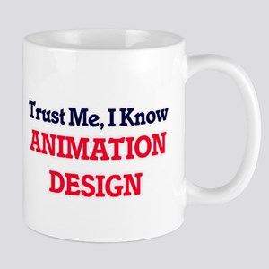 Trust Me, I know Animation Design Mugs