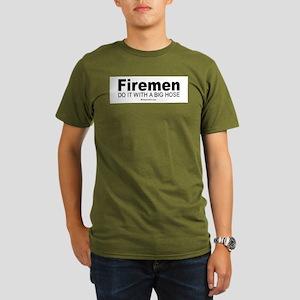 Firemen do it with a big hose - Ash Grey T-Shirt