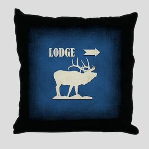 LODGE Throw Pillow