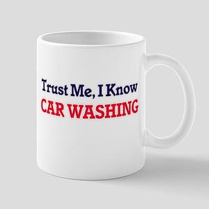 Trust Me, I know Car Washing Mugs
