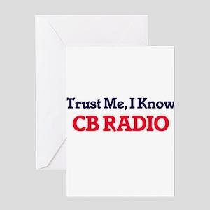 Trust Me, I know Cb Radio Greeting Cards