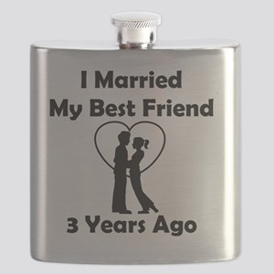 "This beautiful ""I Married My Best Friend 3 Y Flask"